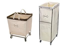 Ideas For Laundry Carts On Wheels Design Top Laundry Baskets With Wheels Homesfeed Within Wheeled