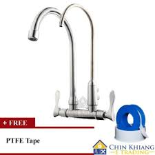 is 8000sw wall mounted double kitchen sink water filter faucet