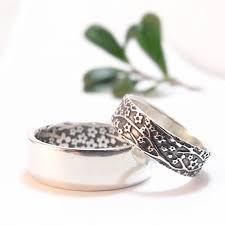 womens wedding ring sets womens wedding ring set womens wedding band set cherry blossom