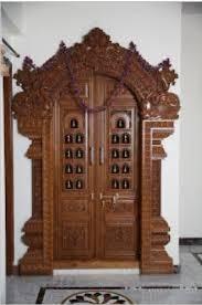 Kerala Pooja Room Door Designs