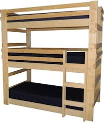 Loft Bed  Bunk Beds For Home  College Made In USA - Twin extra long bunk beds