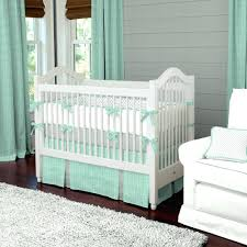 mint green baby nursery mint herringbone crib bedding neutral baby