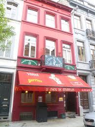 restaurant cuisine belge bruxelles le chou de bruxelles cuisine belge et n 1 des moules frites