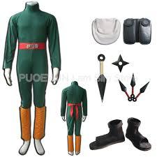 Halloween Costumes Naruto Cheap Rock Lee Costumes Aliexpress Alibaba Group