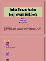Flag Day Reading Comprehension Worksheets Critical Thinking Reading Comprehension Worksheets Reading