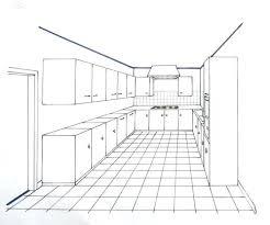 dessiner en perspective une cuisine dessiner un meuble en perspective comment dessiner une cuisine