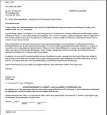 Breach Of Employment Contract Letter Sle contract non renewal non renewal notice real state