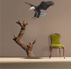 Tree Wall Murals Bald Eagle And Tree Decal Mural Tree Wall Decal Murals Primedecals