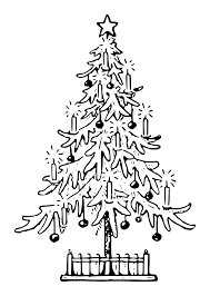 clipart lutz xmas tree outline