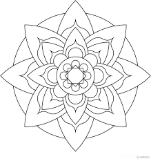 25 easy mandala designs ideas easy mandala
