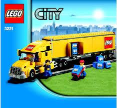 lego mini cooper instructions lego city truck set 3221 the news wheel