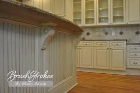 Painted Glazed Kitchen Cabinets Kitchen Cabinets Brushstrokes By Mary Anne Chalk Paint Milk
