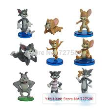 9x tom and jerry dolls doll model toys tom jerry