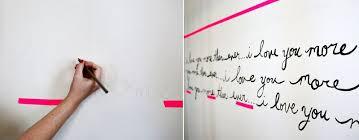 Wall Writing Elsie U0027s Handwriting Statement Wall U2013 A Beautiful Mess