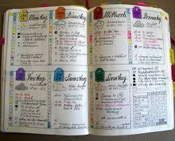 bullet journal weekly spread woche 03 bullet journal pinterest