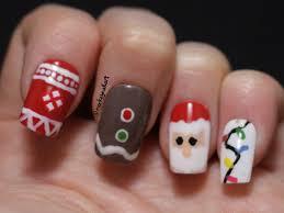 cutepolish christmas nail art diy cute easy christmas nail polish