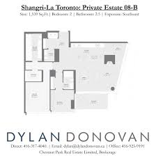 shangri la toronto floor plans