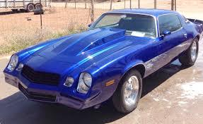 blue 1979 camaro camaro berlineta