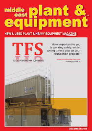 middle east plant u0026 equipment december 2015 edition by middle