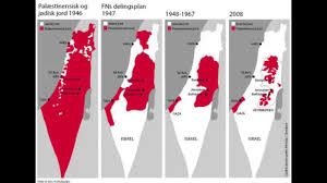 Israel Map 1948 Palestine Conflict Map Images
