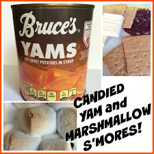 thanksgiving yams with marshmallows recipe mini monets and mommies candied yam marshmallow casserole s u0027mores