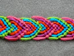 bracelet instructions string images Friendship bracelet tutorial beginner alternating leaves jpg