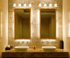 bathroom light fixture the form of light such as a drinking glass
