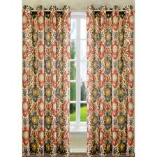 Brown And Green Curtains Designs Ikat Curtains U0026 Drapes You U0027ll Love Wayfair