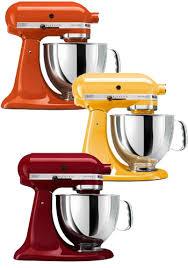 Yellow Kitchen Aid - kitchenaid artisan 5 quart stand mixers top 10 warm up your