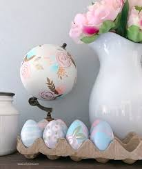 ceramic easter eggs diy painted faux easter eggs all materials at your local walmart