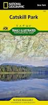 New York Appalachian Trail Map by Amazon Com Catskill Park National Geographic Trails Illustrated