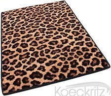 Leopard Print Runner Rug Nylon Animal Print Runner Rugs Ebay