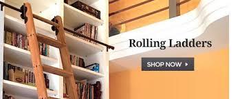 Bookcase Ladder Hardware Rolling Ladder Kits U0026 Hardware Rolling Interior Barn Doors