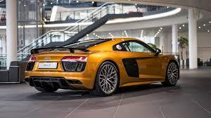Audi R8 Nardo Grey - audi r8 orange pearl effect gives audi showroom a refreshing touch
