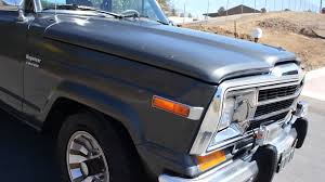 1987 jeep wagoneer interior 1986 jeep grand wagoneer 1 owner cherokee 4x4 low mile amc youtube