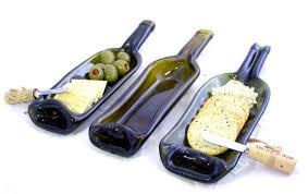 melted wine bottle platter 10 best bottles images on fused glass glass bottles