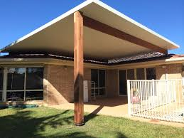 Timber Patio Designs Timber Framed Flyover Patio Varsity Lakes Gold Coast Side Carport