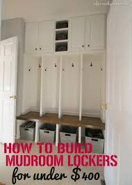 how to build a mudroom bench mudroom coats and storage