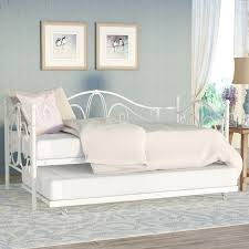 august grove baleine daybed with trundle u0026 reviews wayfair