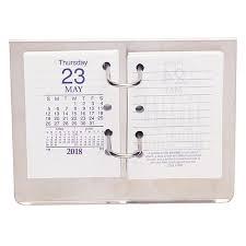 Desk Calendar With Stand Desk Calendars U0026 Stands