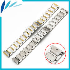 stainless steel cartier bracelet images Stainless steel watch band 16mm 20mm for cartier butterfly clasp jpg