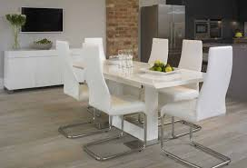 Tesco Dining Table And Chairs Table Impressive Tesco White Gloss Dining Table Startling White