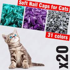20pcs soft nail caps pawmighty