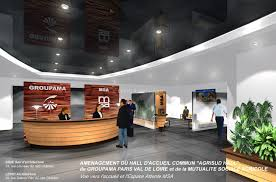 restructuration des espaces d accueil du siège social groupama