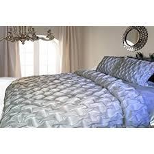 White Cotton Duvet Cover King Amazon Com White Cotton Smocked Duvet Cover King U0026 Queen Size 95