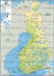 Google Maps Costa Rica Geoatlas Countries Finland Map City Illustrator Fully