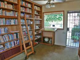 Library Bookcase With Ladder by Furniture Furniture Wooden Ladder Bookshelf With Natural Floor