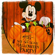 mickey u0027s not so scary halloween party 2015 dates