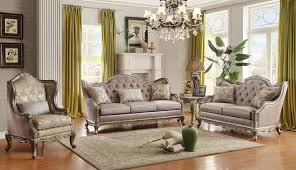 Living Room With Furniture Furniture Living Room With Chandelier And Homelegance Sofa Set