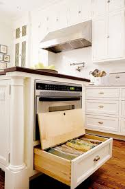 kitchen island with microwave drawer stacked island drawers surround microwave drawer transitional